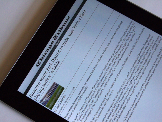 Tribune Developing Own Subsidized Tablet for Subscription Plans?