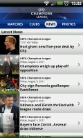 UEFA Champions League Edition - News list