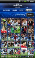 UEFA Champions League Edition - Photo gallery grid