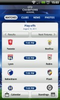 UEFA Champions League Edition - Upcoming fixtures