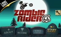 Zombie Rider - Menu