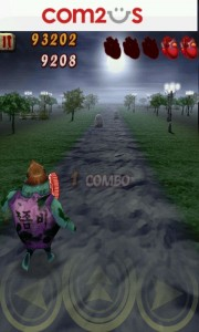 Zombie Runaway - Collect as many coins as you can