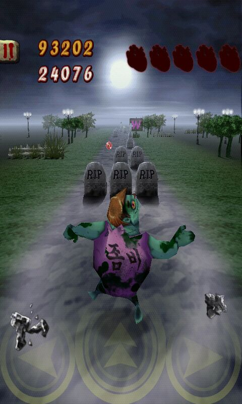 Zombie Runaway a Dodge 'em Up Running Game that has… Well… Zombies!