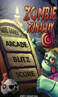 Zombie Runaway - Menu