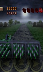 Zombie Runaway - Those spikes are very bad for you