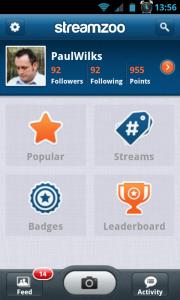 Streamzoo - New dashboard
