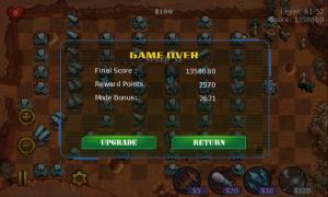 Base Defense - Game over