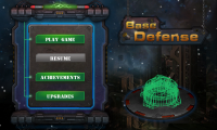 Base Defense - Main menu