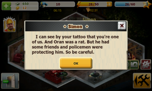 Crime Story - Getting a tattoo increases your popularity