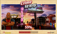 Crime Story - Initial loading page