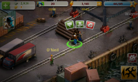Crime Story - Interaction options speak, action or fight