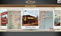 Crime Story - Maps screen