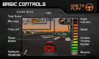 Drift Mania Championship - Basic controls