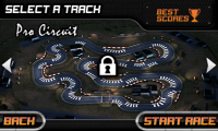 Drift Mania Championship - Unlock later circuits as you progress through the game