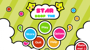 Drop the Star Main Menu