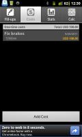 Fuel Log Car Management Costs