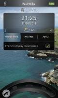 GOTO Lockscreen - Ability to set your name on the lockscreen