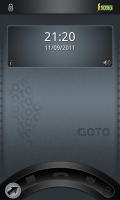 GOTO Lockscreen - Basic screen