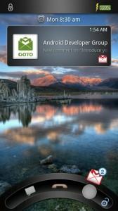GOTO Lockscreen - Email viewer