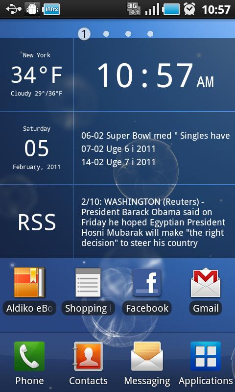 Glass Widgets – Minimal & Functional Android Widgets