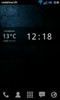 Glass Widgets - Clock widget