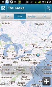 GroupMe Map