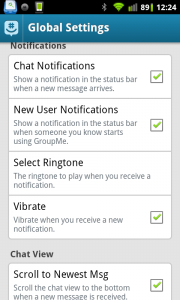 GroupMe Preferences 2