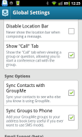 GroupMe Preferences 3