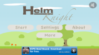 Helm Knight Main Screen