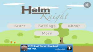 Helm Knight Main Screen