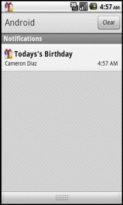 Qs Smart Birthday Wisher - Notifications