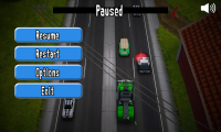Reckless Getaway - Pause menu