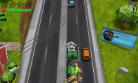 Reckless Getaway - Reckless mode in-game view (1)