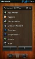 Regina 3D Launcher - App manager widget