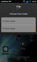 Regina 3D Launcher - Hour mode
