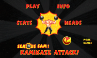 Serious Sam Main Menu