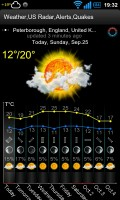 Weather,US Radar,Alerts,Quakes - App screens (3)