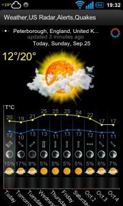 Weather,US Radar,Alerts,Quakes - App screens (3)