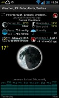 Weather,US Radar,Alerts,Quakes - App screens (4)