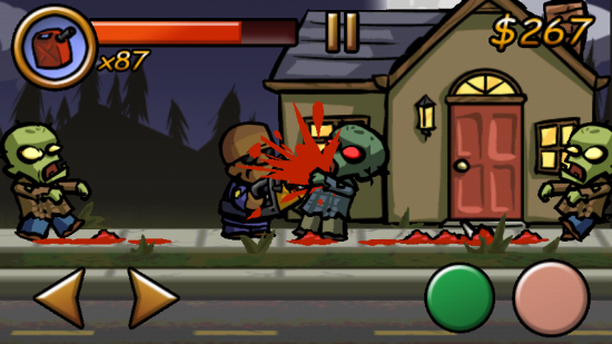 Zombieville USA – The Ultimate Side Scrolling Zombie Shooter!