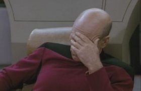 Picard Face-palm