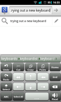 A.I.type Keyboard Plus - Additional editing features