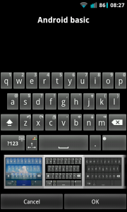 A.I.type Keyboard Plus - Android basic keyboard