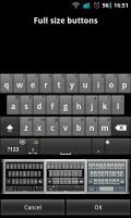 A.I.type Keyboard Plus - Full size buttons keyboard