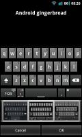 A.I.type Keyboard Plus - Gingerbread keyboard