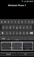 A.I.type Keyboard Plus - WP7 keyboard