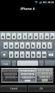 A.I.type Keyboard Plus - iPhone 4 keyboard