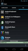 Android 4.0 Internal Memory Storage and Apps Management