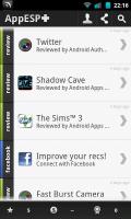 AppESP - Reviews list