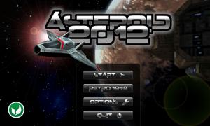 Asteroid 2012 - Menu